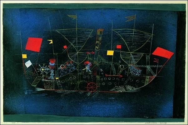 P.Klee - Das Abenteurershiff Reprodukcija umjetnosti
