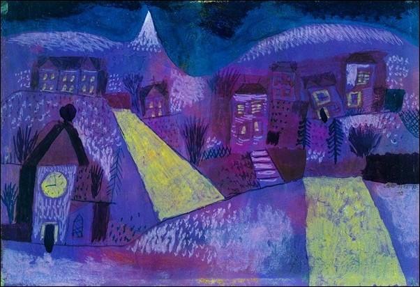 P.Klee - Winterlandschaft Reprodukcija umjetnosti
