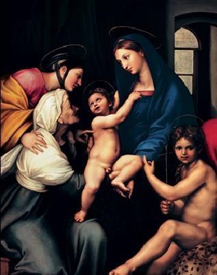 Raffaello Reprodukcija umjetnosti