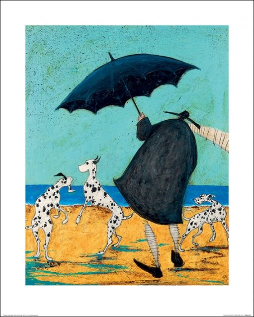 Sam Toft - On Jack's Beach Reprodukcija umjetnosti