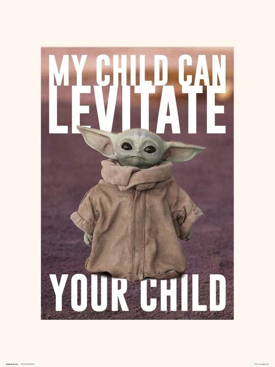 Star Wars: The Mandalorian - The Child Reprodukcija umjetnosti