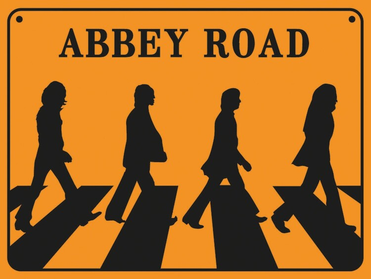 The Beatles - Abbey Road Reprodukcija umjetnosti