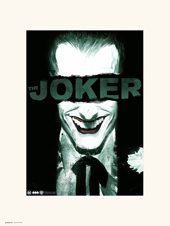 The Joker - Smile Reprodukcija umjetnosti
