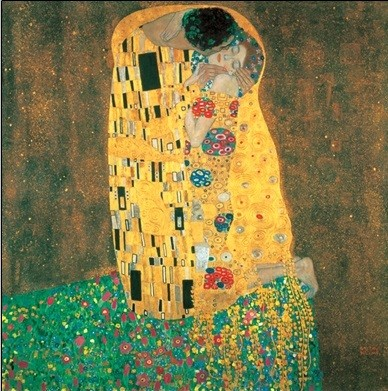 The Kiss Reprodukcija umjetnosti
