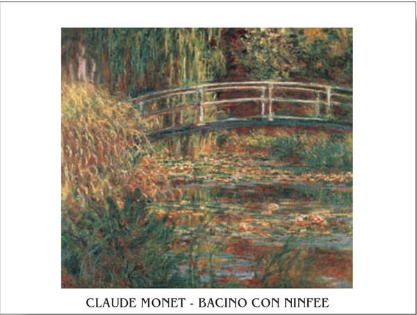 The Water-Lily Pond Reprodukcija umjetnosti