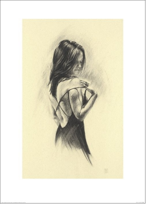 Woman - Dark Reprodukcija umjetnosti