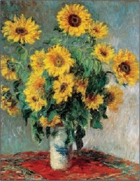 Bouquet of Sunflowers, 1880-81 Reprodukcija