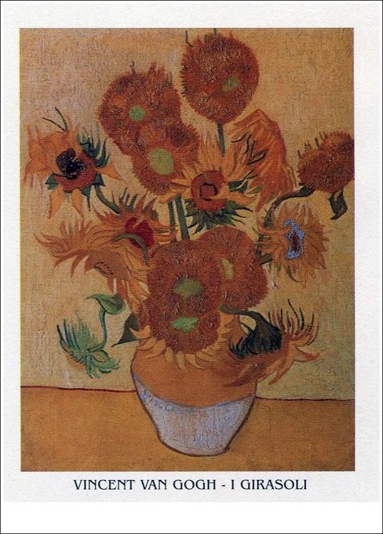 Sunflowers, 1888 Reprodukcija