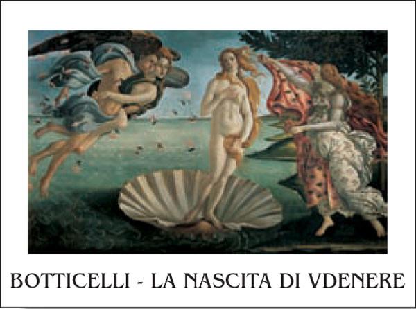 The Birth of Venus Reprodukcija