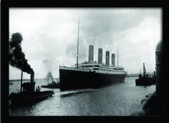 Πλαισιωμένη αφίσα TITANIC (4)