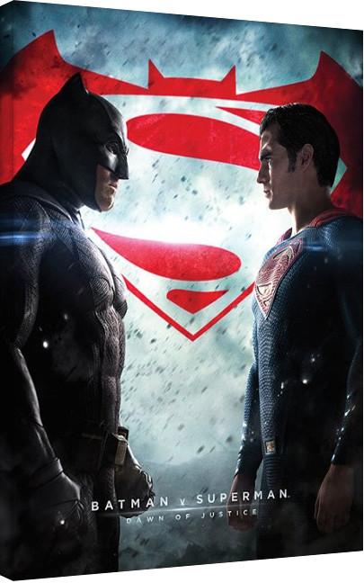 Batman vs Superman Tableau sur Toile