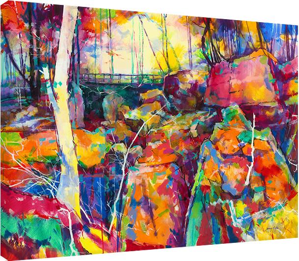 Doug Eaton - Puzzlewood Tableau sur Toile