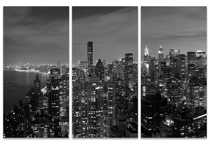 Håkan Strand: Midtown Panorama, NYC Tableau sur Toile