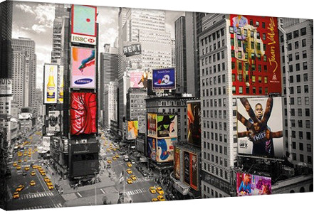 New York - time square Tableau sur Toile