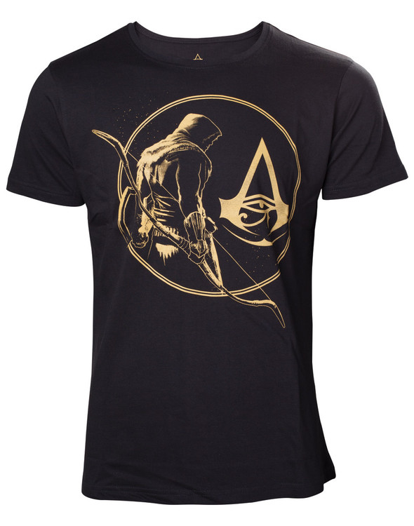 Tričko  Assassin's Creed - Golden Bayek & Crest