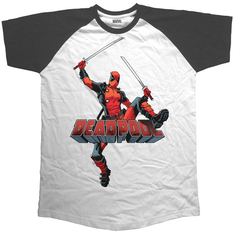 Tričko Deadpool - Logo Jump