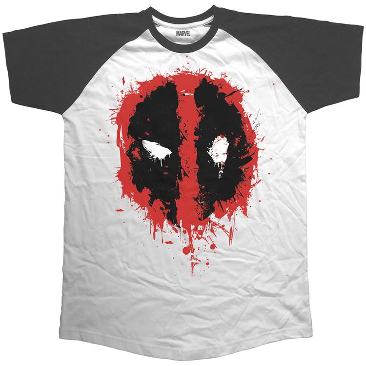 Tričko  Deadpool - Splat Icon