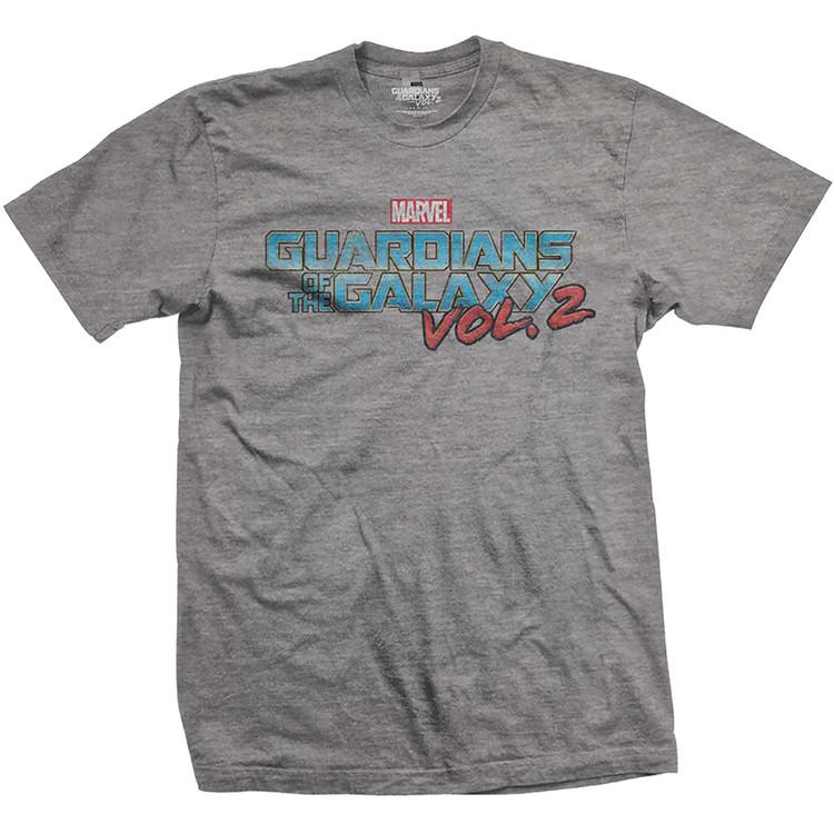 Tričko Strážci Galaxie - Vtge Colour Logo