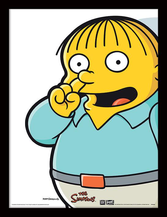 A Simpson család - Ralph Pick Keretezett Poszter