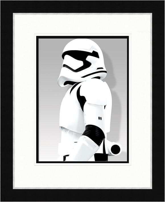 Csillagok háborúja VII (Star Wars: Az ébredő Erő) - Stormtrooper Shadow Keretezett Poszter