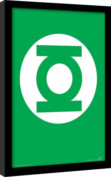 DC Comics - Zöld Lámpás Keretezett Poszter