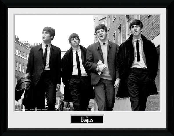 The Beatles - In London Keretezett Poszter