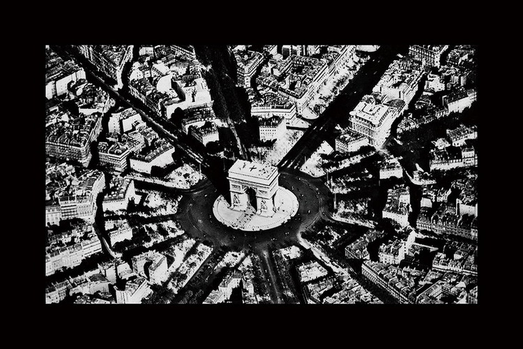 Üvegkép City - Black and White