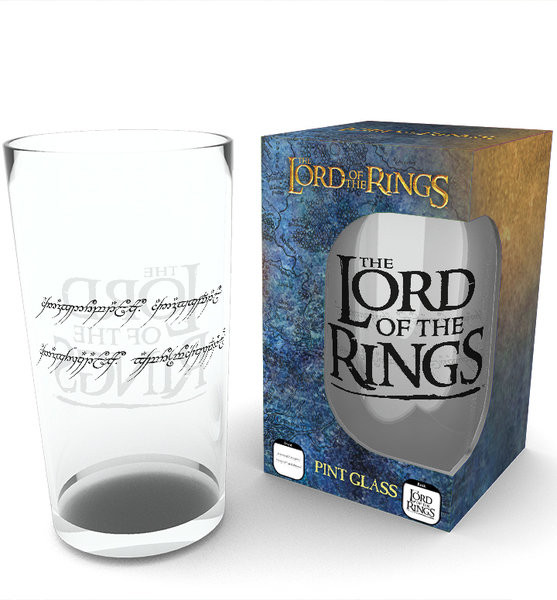 A Gyűrűk Ura - Ring Üvegpohár