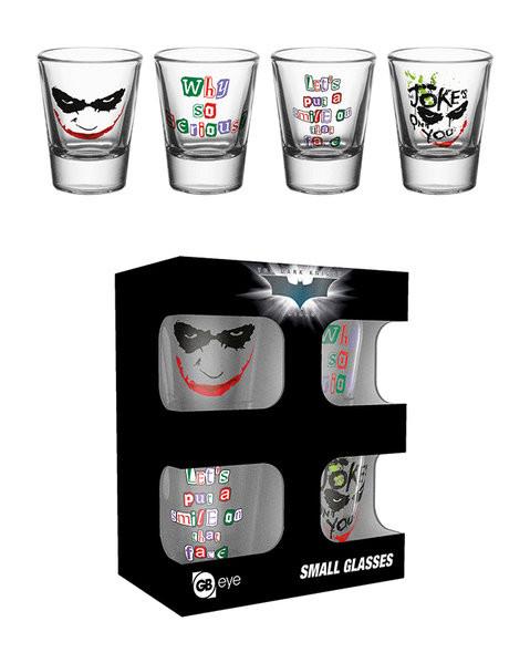 Batman: A sötét lovag - Joker  Üvegpohár