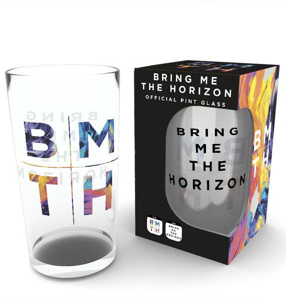 Bring Me The Horizon - Logo (Bravado) Üvegpohár