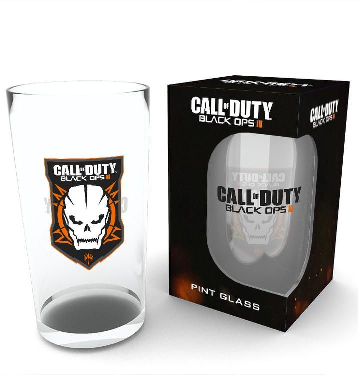 Call of Duty: Black Ops 3 - Logo Üvegpohár