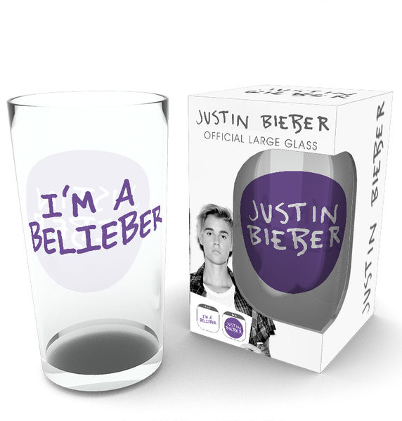Justin Bieber - Belieber (Bravado) Üvegpohár