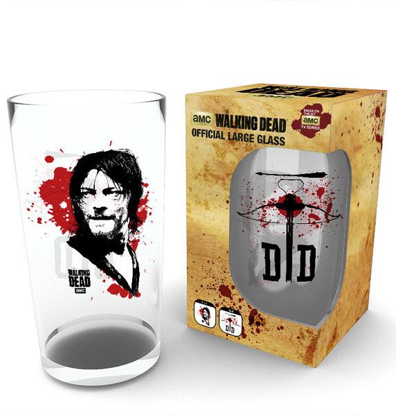 The Walking Dead - Daryl Üvegpohár