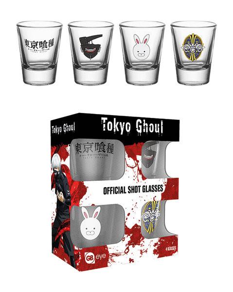 d09b8f106f Tokyo Ghoul - Mix Üvegpohár, Plakátok, Poszterek az Europoszters.hu