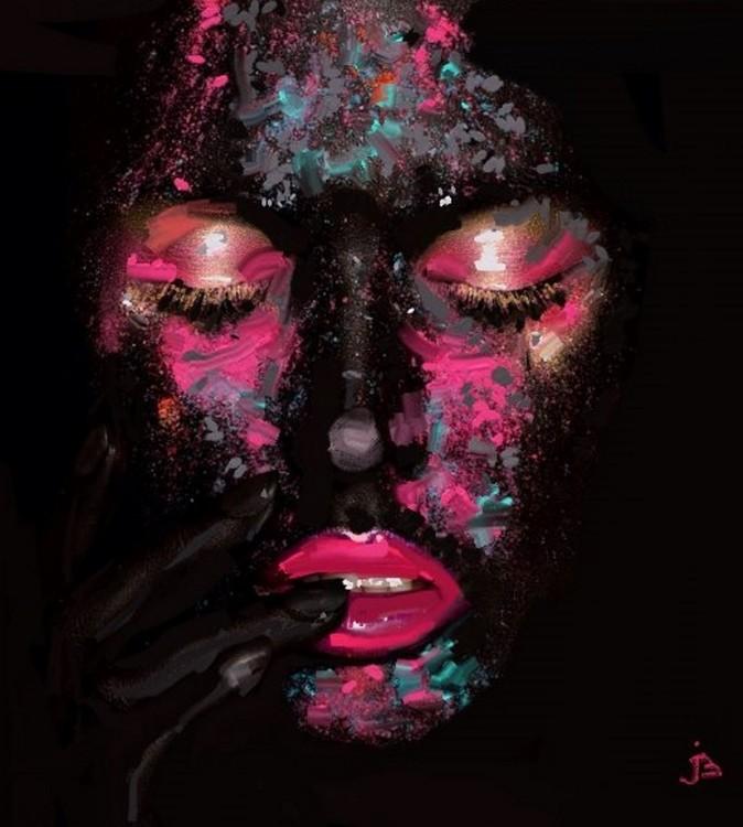 Umjetnička fotografija Blackimagino