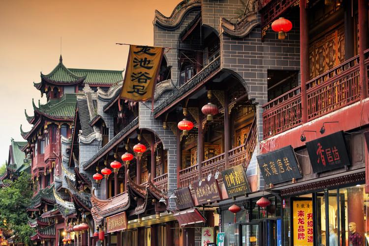 Umjetnička fotografija China 10MKm2 Collection - Chinese Architecture