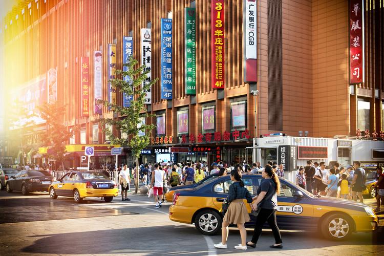 Umjetnička fotografija China 10MKm2 Collection - Yellow Cabs