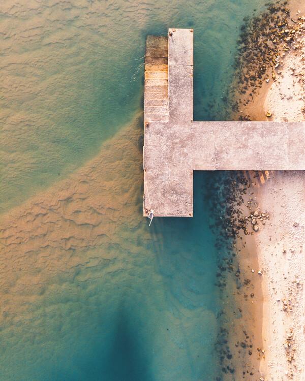 Umjetnička fotografija Pier