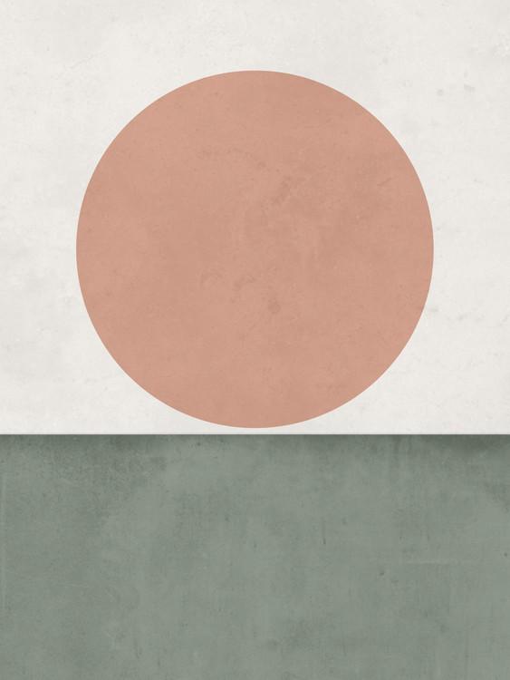 Umjetnička fotografija abstractorangesungreen1
