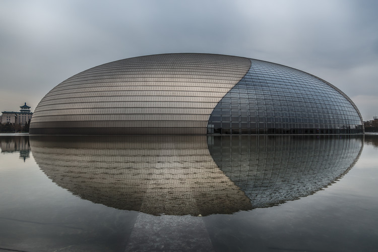 Umjetnička fotografija Beijing - National Grand Theatre