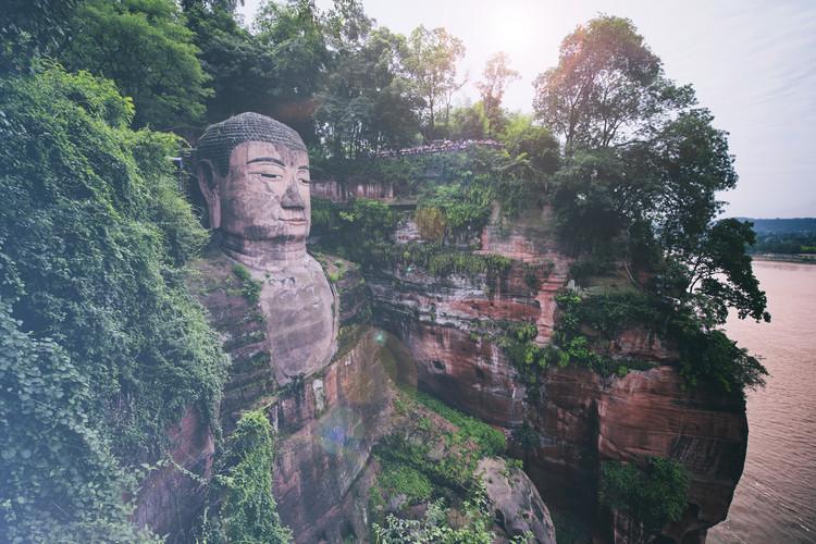 Umjetnička fotografija China 10MKm2 Collection - Giant Buddha of Leshan