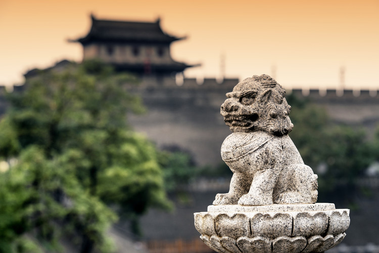 Umjetnička fotografija China 10MKm2 Collection - Guardian of the Temple