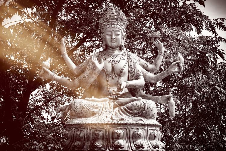 Umjetnička fotografija China 10MKm2 Collection - Serenity Buddha