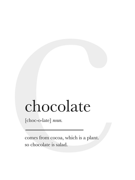 Umjetnička fotografija chocolate