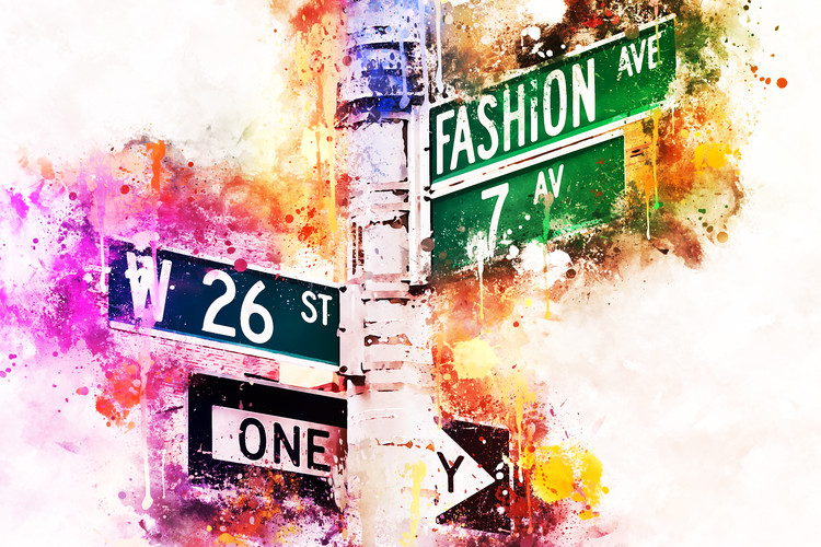 Umjetnička fotografija Fashion Ave