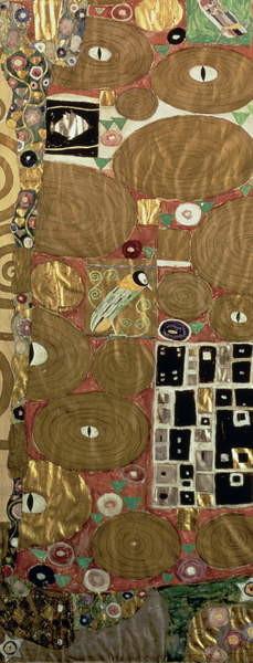 Fulfilment (Stoclet Frieze) c.1905-09 (tempera, w/c) Reprodukcija umjetnosti