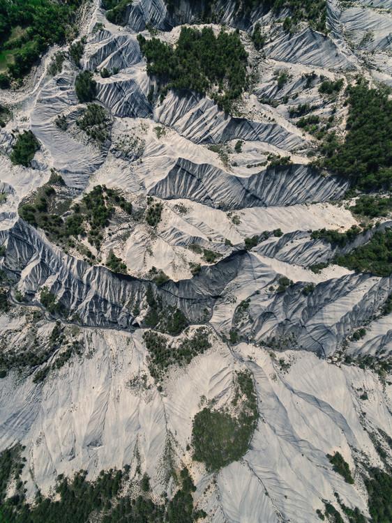 Umjetnička fotografija Greys canyons