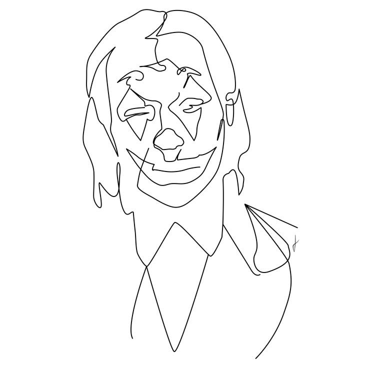 Umjetnička fotografija Joker
