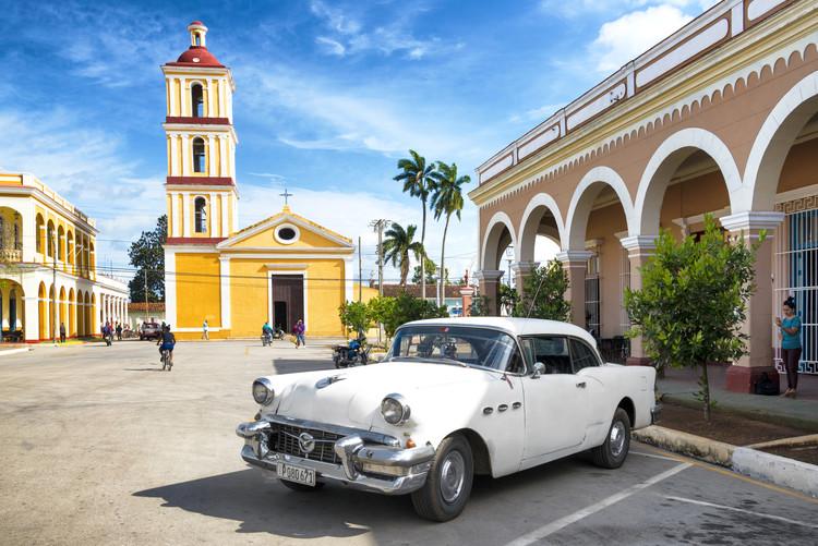 Umjetnička fotografija Main square of Santa Clara