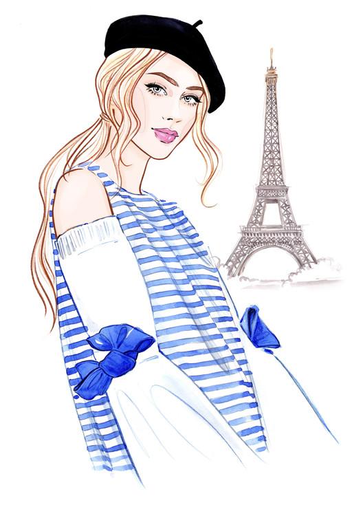 Umjetnička fotografija Paris mon amour! - 1